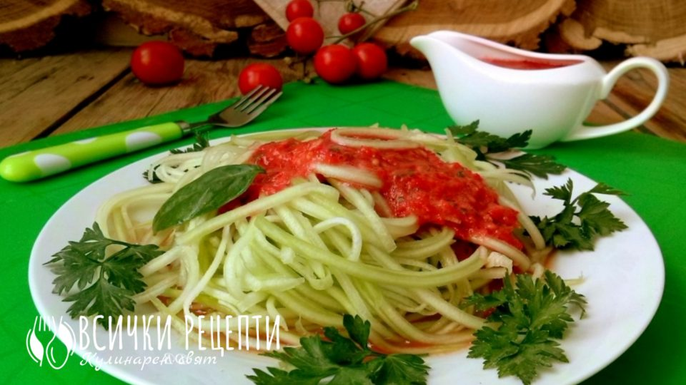 сурови-спагети