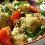 Гръцка салата от карфиол