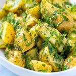 Картофена салата с копър