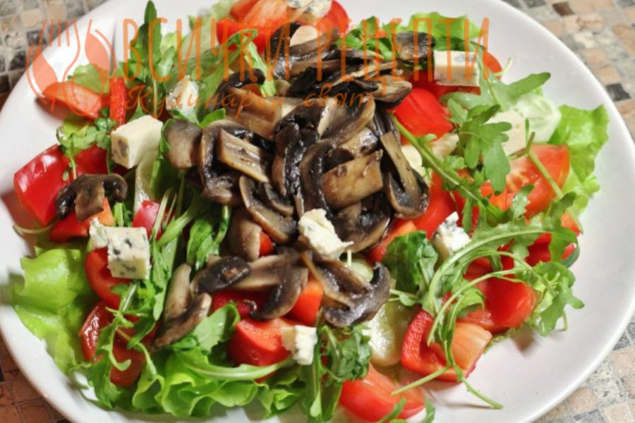 Marinovana-gabena-salata-sas-zelenchuci