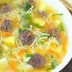 Супа топчета на баба