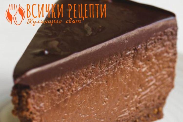 Чийзкейк с шоколад
