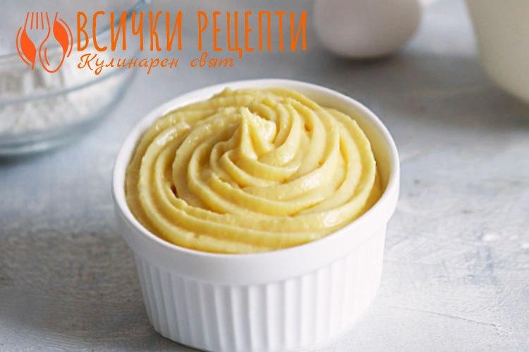 Домашен яйчен крем