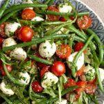 Френска салата със зелен фасул