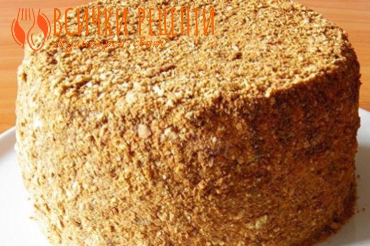 Френска селска торта с маскарпоне