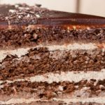 Френска селска торта с шоколад