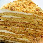 Френска селска торта с цедено кисело мляко