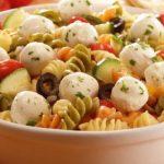 Италианска салата с макарони