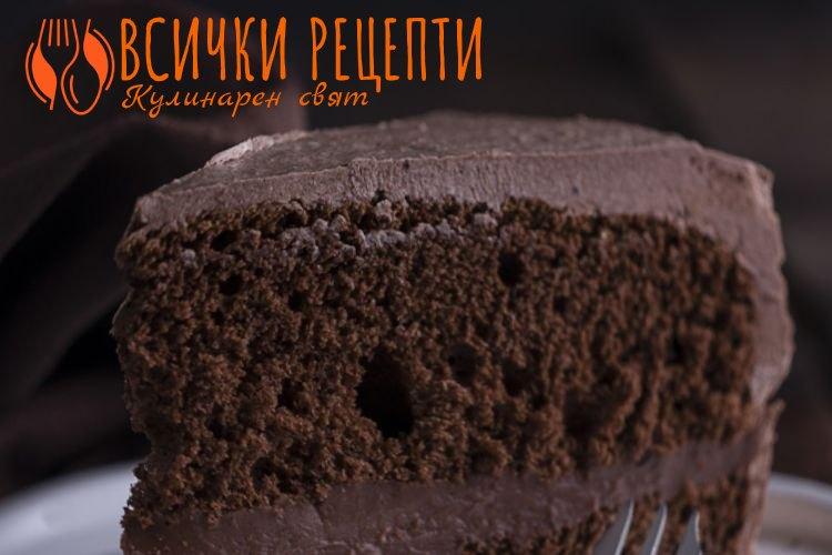 Кекс с какао
