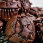 Мъфини с течен шоколад