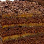 Торта с готови блатове