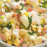 Въздушна салата с картофи