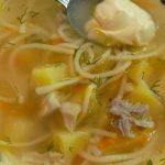 Бистра пилешка супа