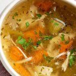 Пилешка супа без застройка