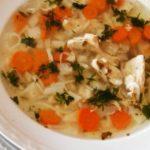 Пилешка супа в мултикукър