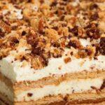 Бърза торта с бишкоти и Маскарпоне