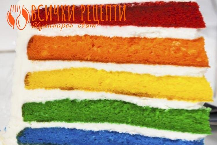 Цветни блатове за торта