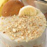 Десерт с прясно мляко и банани