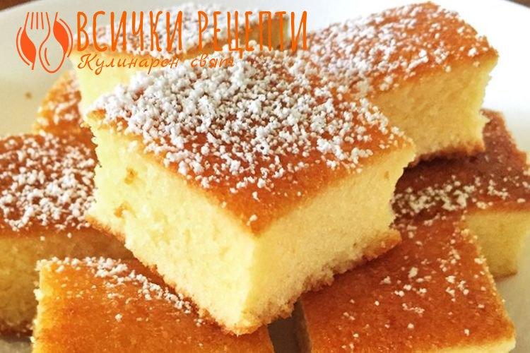 Десерт с прясно мляко и яйца