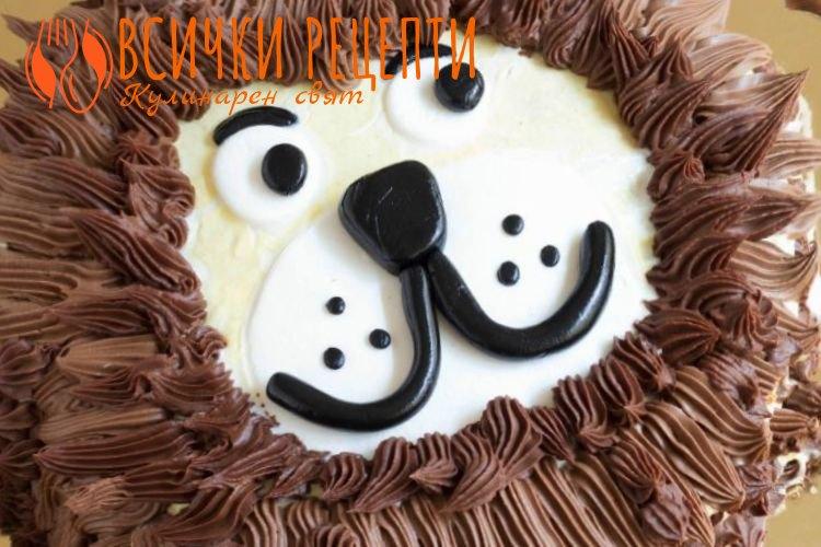 Детска торта за момче