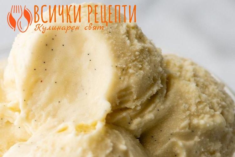 Домашен сладолед с кондензирано мляко