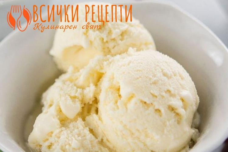 Домашен сладолед с прясно мляко