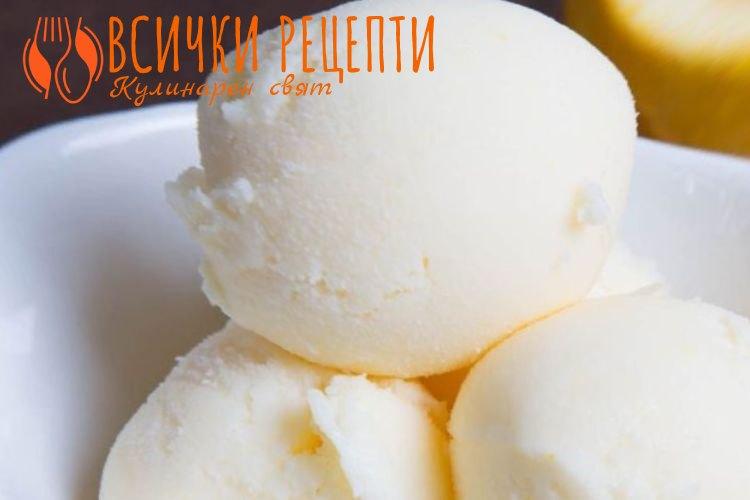 Домашен йогурт сладолед