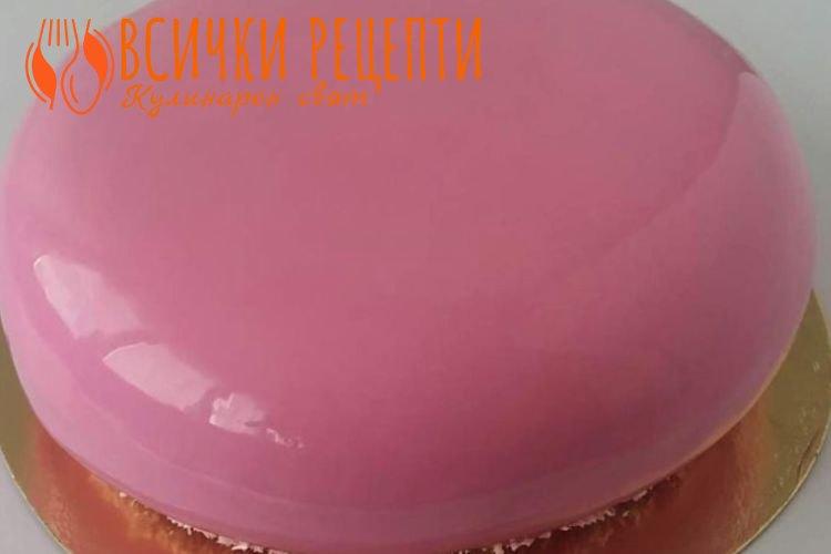 Глазура за торта с желатин
