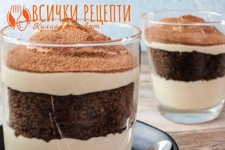 Кето десерт с Маскарпоне