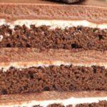 Класически шоколадов крем за торта