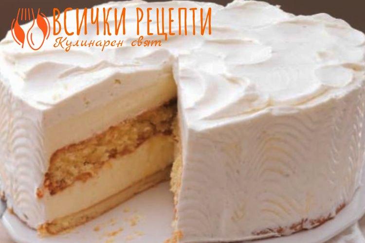 Крем за торта със сметана