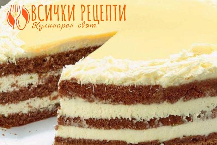 Лек крем за торта
