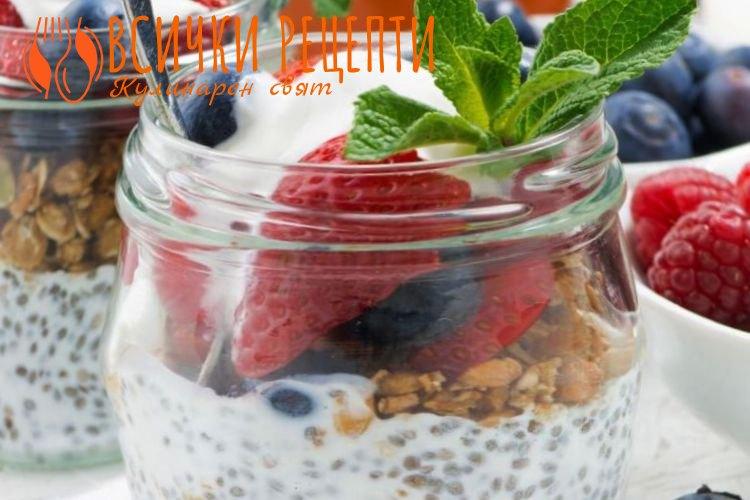 Лесен здравословен десерт