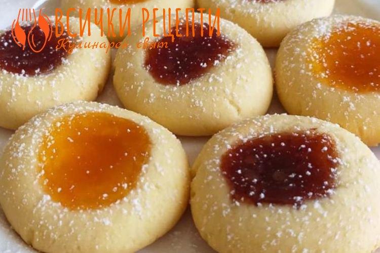 Маслени сладки с мармалад