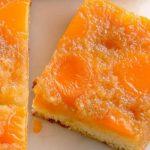 Обърнат сладкиш с кайсии