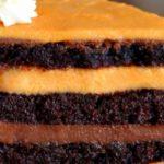 Портокалово шоколадова торта