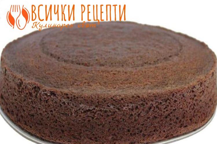Шоколадов блат за торта