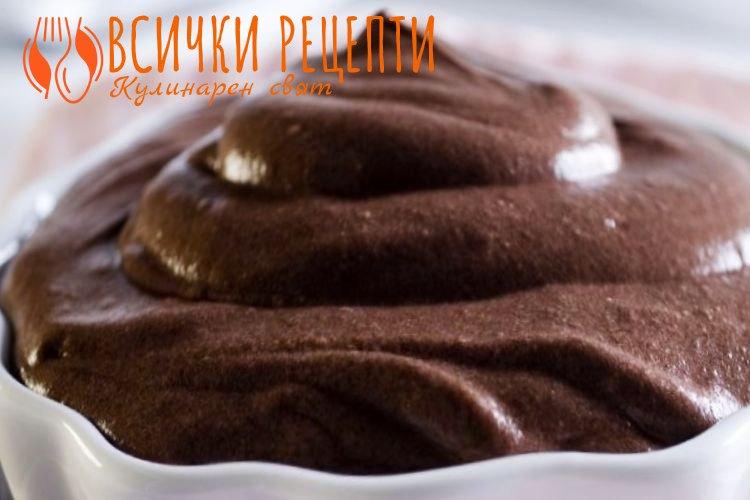 Шоколадов крем с Маскарпоне