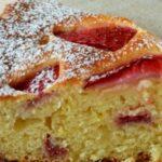 Сладкиш с ягоди и извара