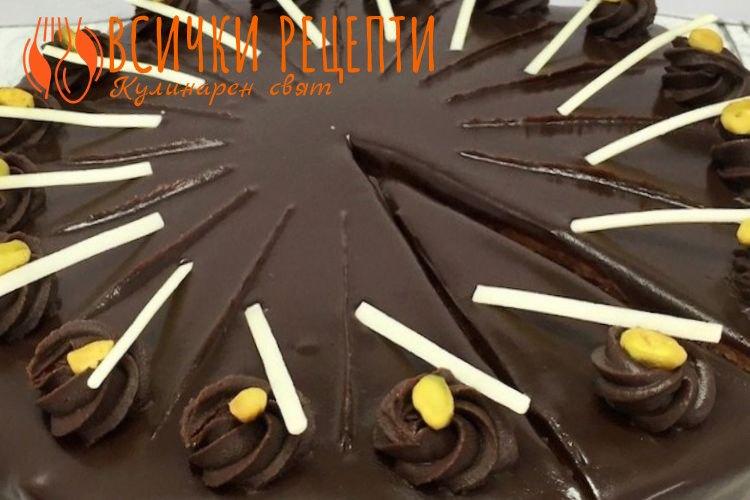 Торта Гараш с готови блатове