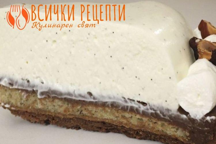 Ванилов крем за торта
