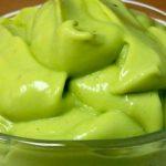 Веган десерт с авокадо
