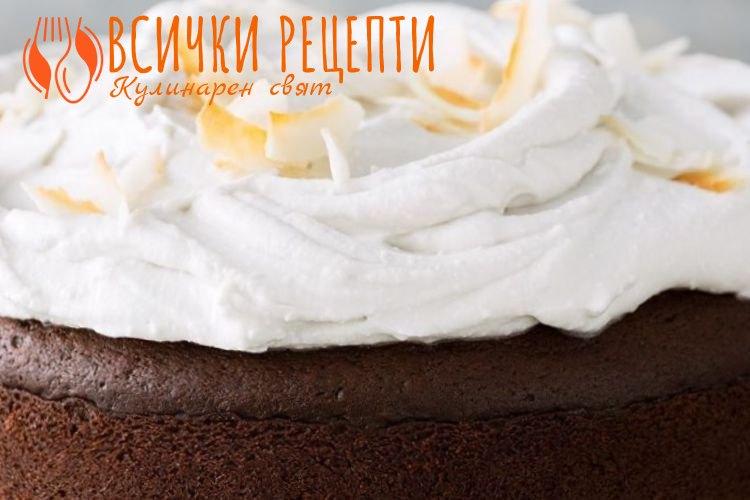 Веган крем за торта