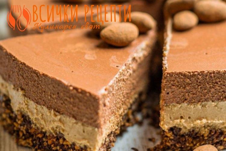 Веган торта без печене