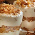 Здравословен десерт с извара