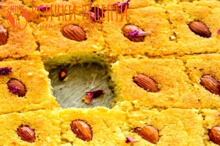 Арабски сладкиш с грис
