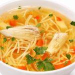 Пилешка супа с фиде и картофи