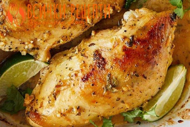 Бърза рецепта с пилешко филе
