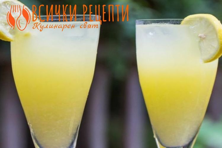 Домашна лимонада с мед