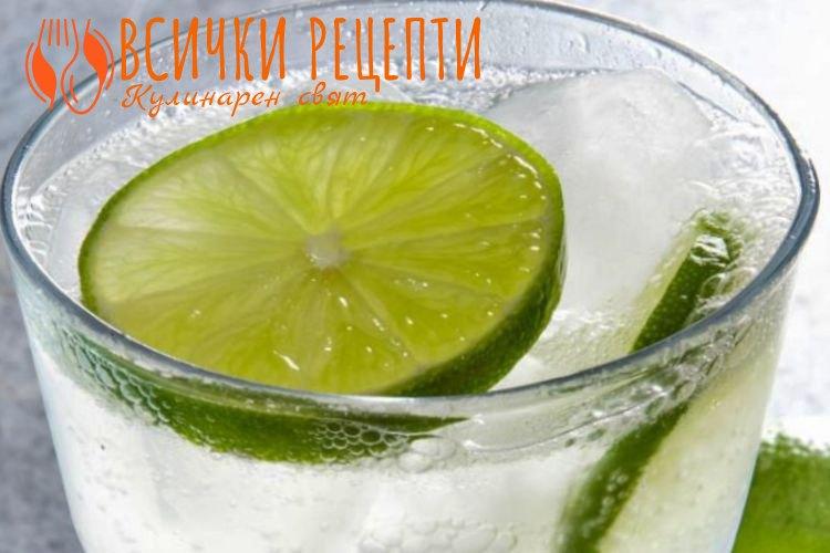Домашна лимонада със сода